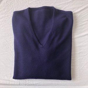 Vintage V Neck Cashmere Sweater